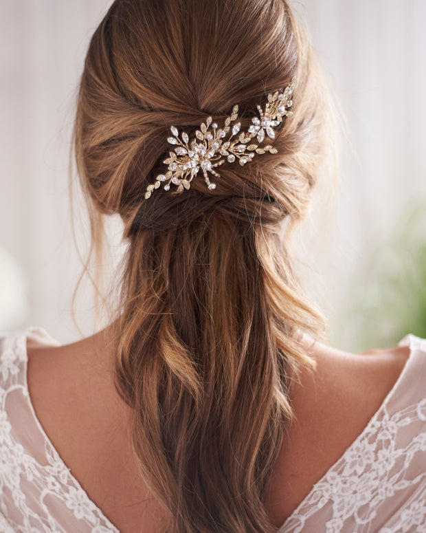 Crystal Wedding Day Hair Clip