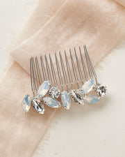 Crystal Opal Bridal Hair Comb