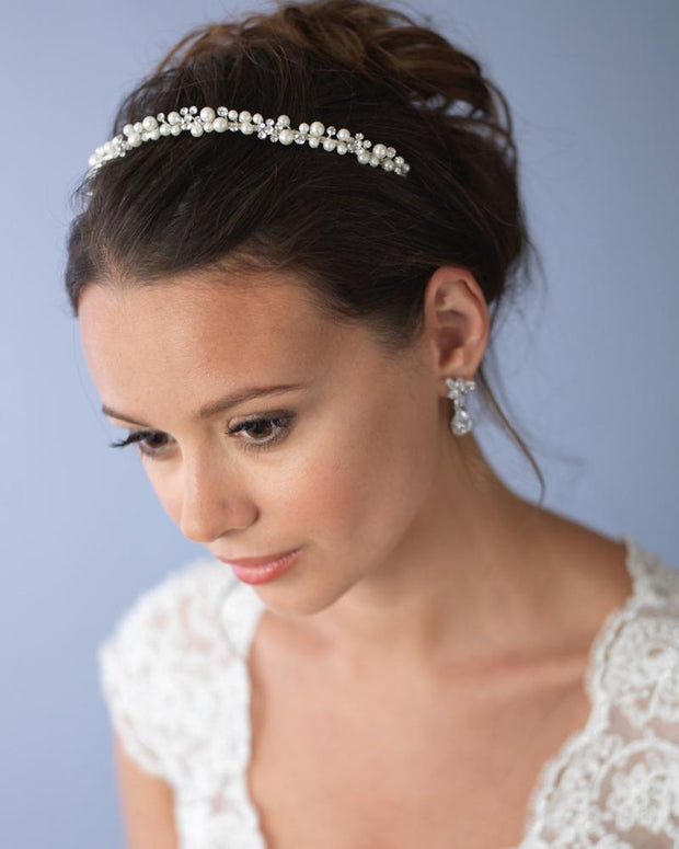 Pearl Headband for Wedding