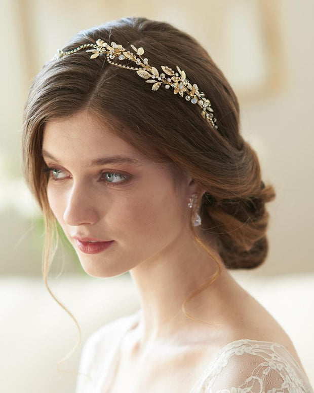 Wedding Headband Floral