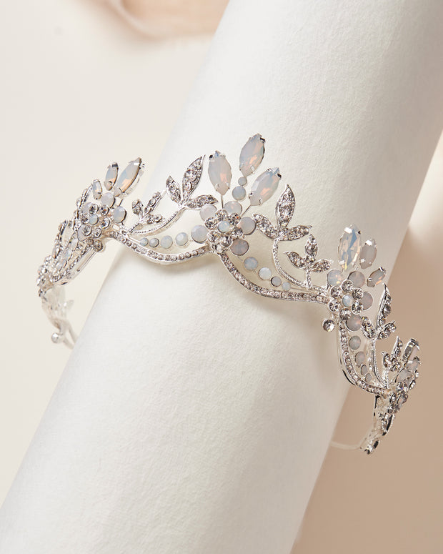 Silver Wedding Tiara