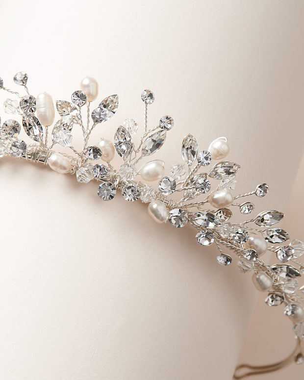 Wedding Tiara Pearls