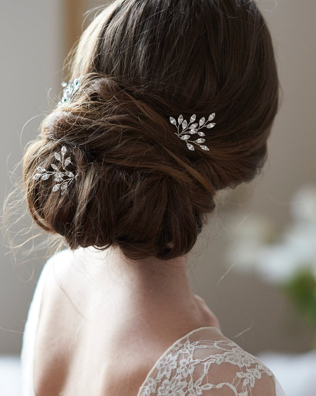 Crystal Bridal Wedding Hair Pins