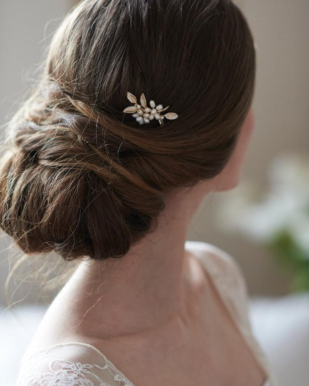 Pearl Bridal Wedding Hair Pin
