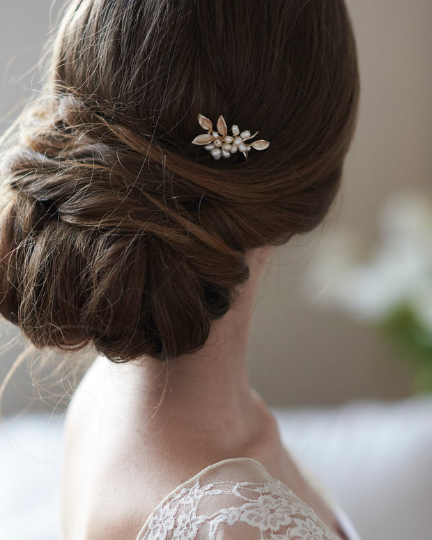 Pearl Wedding Hair Pin Bridal Hair Accessory