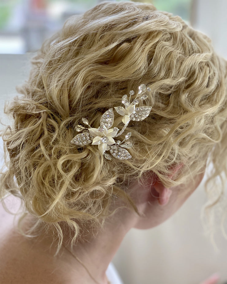 Amanda Crystal Hair Pin