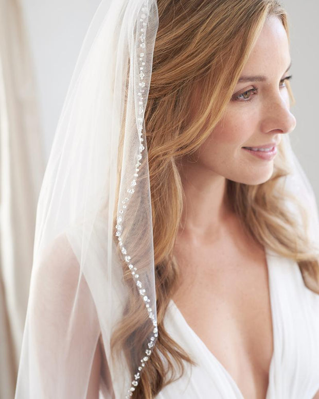 Crystal Bridal Veil