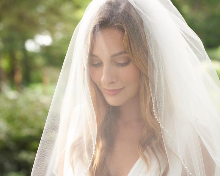Bridal Veil with Blusher