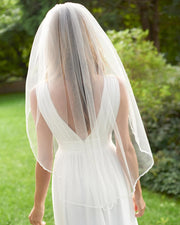 Fingertip Wedding Veil