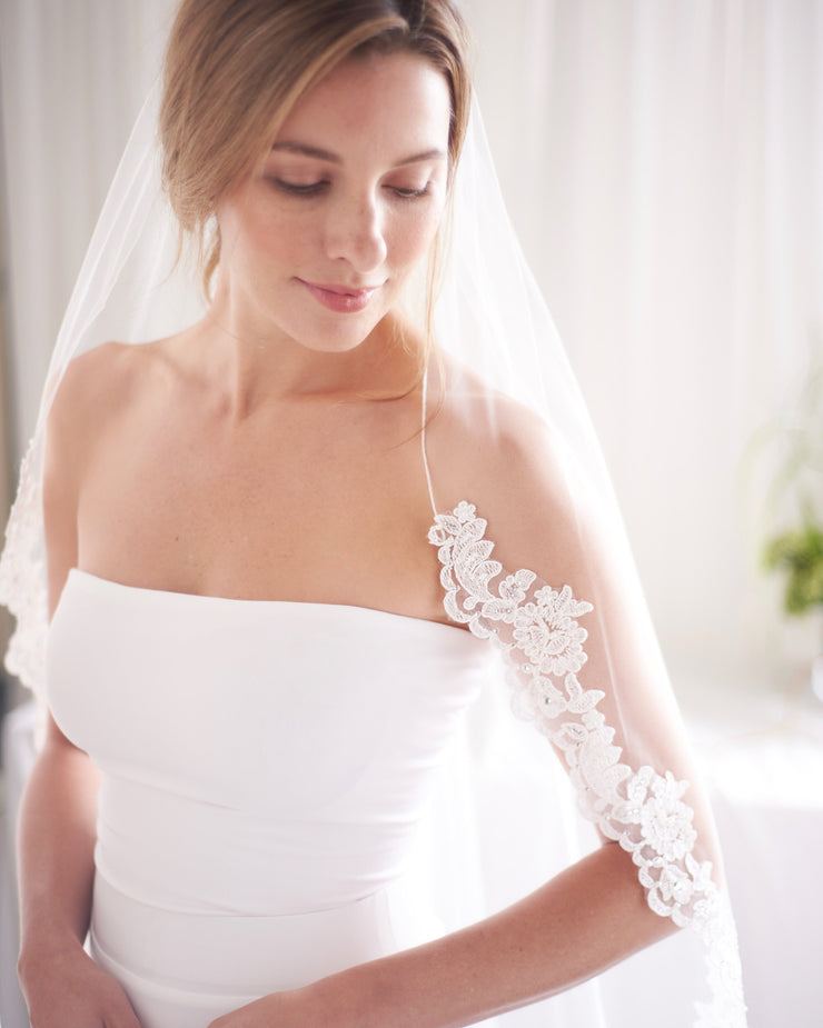 Lace Wedding Veil
