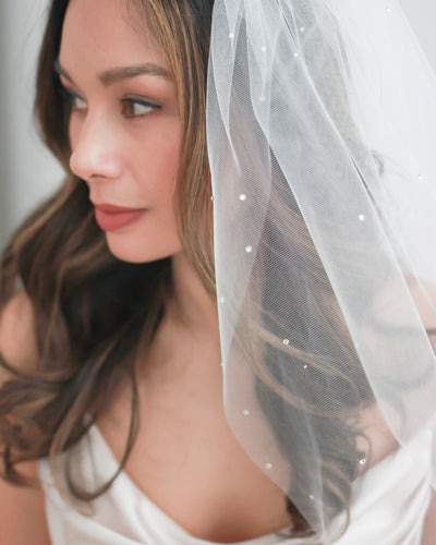 Rhinestone Wedding Veil