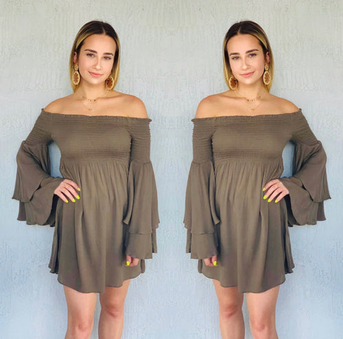 Demi Shirt Dress