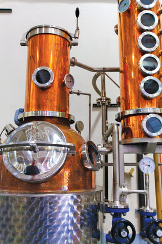 High Proof Grape Spirits Still