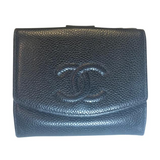 Chanel Caviar Timeless Wallet-Wallets & Clutches-Chanel-Black-JustGorgeousStudio.com
