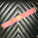 Chanel Neon Clover-Sold Items-Chanel-Orange/pink-JustGorgeousStudio.com