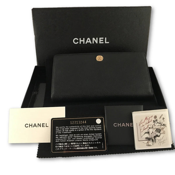 Chanel Portefeuille-Sold Items-chanel-Black-JustGorgeousStudio.com