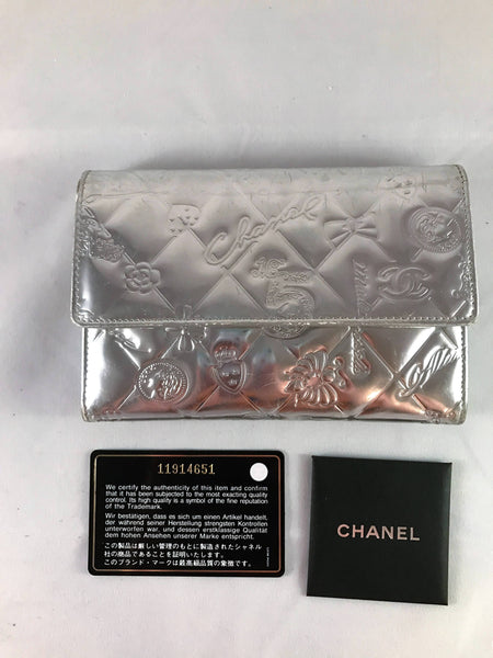 Chanel Portefeuille with Card-Sold Items-Chanel-JustGorgeousStudio.com