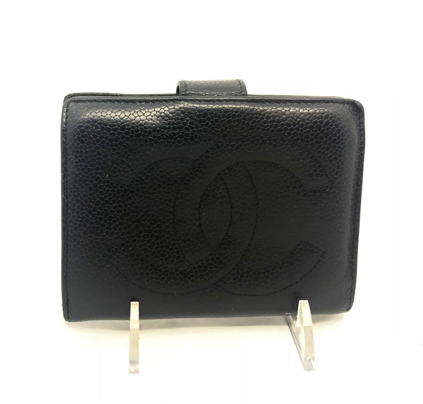 Chanel Timeless CC Wallet-Wallets & Clutches-Chanel-Black-JustGorgeousStudio.com