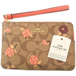 Coach Zippy Pouch Wristlet - Authentic Bags Only