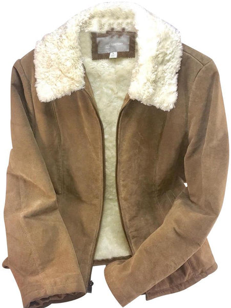Croft & Barrow Suede Jacket-Clothing-Croft & Barrow-JustGorgeousStudio.com