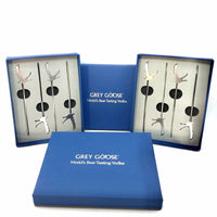 Grey Goose VIP Martini Picks-Authentic Bags Only-Silver-JustGorgeousStudio.com