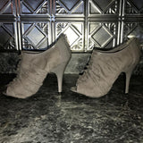 Grey Ruffle Pumps-Clothing, Shoes & Accessories-Just Gorgeous Studio-7-Grey-JustGorgeousStudio.com
