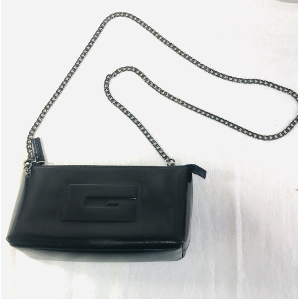Gucci Logo Crossbody Mini Bag-Bags-Gucci-Black-JustGorgeousStudio.com