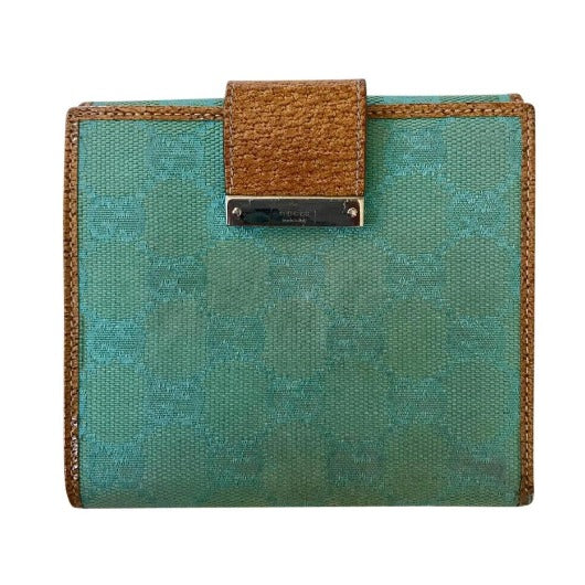 Gucci Turquoise Canvas Monogram-Sold Items-JustGorgeousStudio.com-JustGorgeousStudio.com