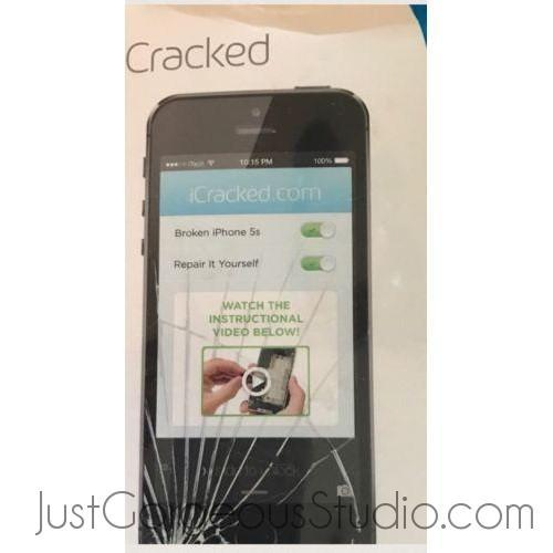 Icracked iPhone 5s Screen Replacement-Cell Phone & Smartphone Parts-iCracked-clear-JustGorgeousStudio.com