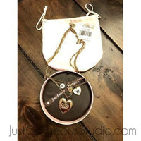 Juicy Couture Layered Charm Necklace-Sold Items-Juicy Couture-Gold-JustGorgeousStudio.com
