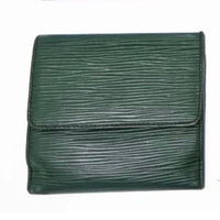 Louis Vuitton Dark Green Epi Leather Compact Bifold Wallet-Sold Items-JustGorgeousStudio.com-JustGorgeousStudio.com