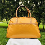 Louis Vuitton Mango Vernis Tompkins Square-Bags-Louis Vuitton-Yellow-JustGorgeousStudio.com