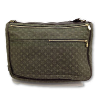 Louis Vuitton Mini Lin Messenger Crossbody Bag-Sold Items-Louis Vuitton-olive-JustGorgeousStudio.com