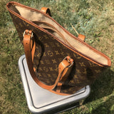 Louis Vuitton Monogram Bucket GM-Bags-Louis Vuitton-Brown-JustGorgeousStudio.com