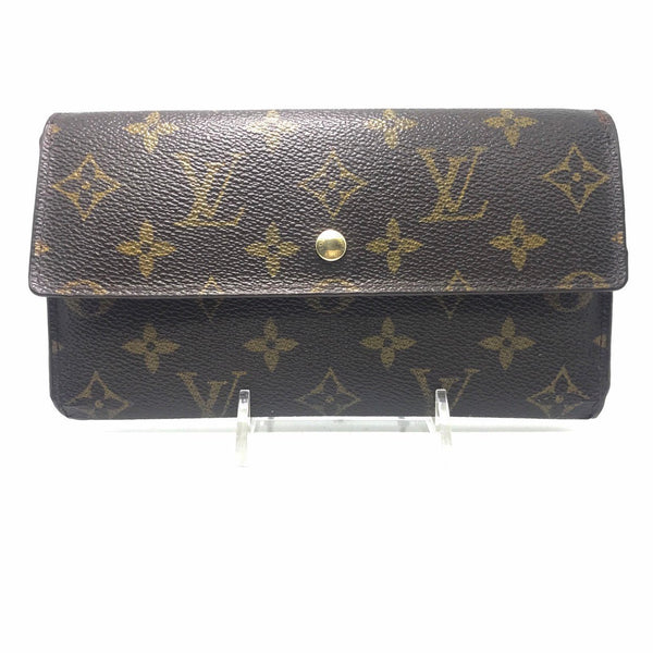 Louis Vuitton Monogram Continental Long Wallet-Wallets & Clutches-Louis Vuitton-JustGorgeousStudio.com