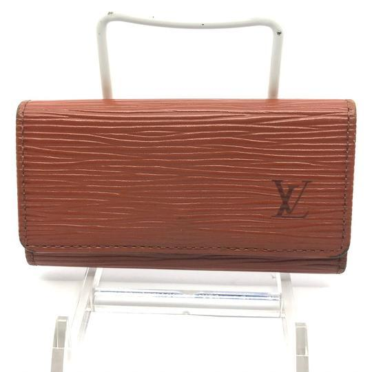 Louis Vuitton Monogram Epi 4 Key Holder-Lock & Key, Key Holders, Luggage Tags-Louis Vuitton-kenyan fawn-JustGorgeousStudio.com