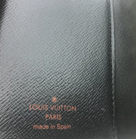 Louis Vuitton Monogram Epi Leather Agenda PM-Agenda, Books, and Writing-Louis Vuitton-black-JustGorgeousStudio.com