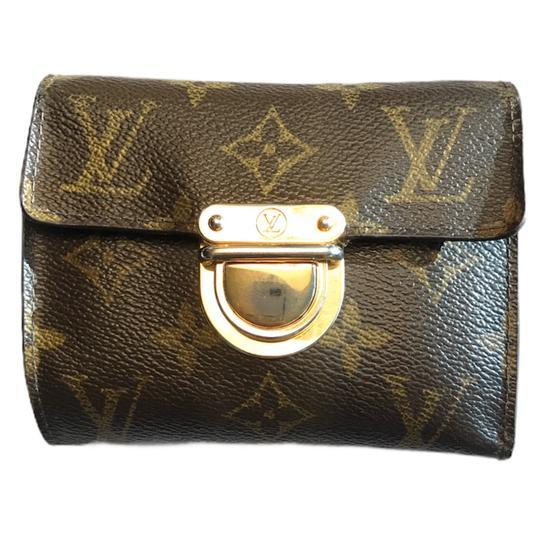 Louis Vuitton Monogram Koala Wallet-Wallets & Clutches-Louis Vuitton-Brown/Tan-JustGorgeousStudio.com