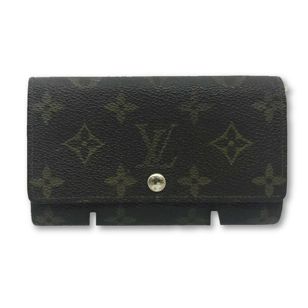 Louis Vuitton Monogram Porte-Monnaie Zip CA1912-Sold Items-Louis Vuitton-brown-JustGorgeousStudio.com