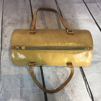Louis Vuitton Monogram Vernis Bedford Barrel Bag-Bags-Louis Vuitton-yellow-JustGorgeousStudio.com