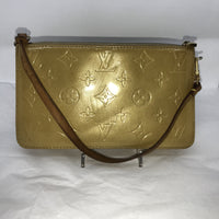 Louis Vuitton Monogram Vernis Lexington Pochette GM-Bags-Louis Vuitton-Gold-JustGorgeousStudio.com