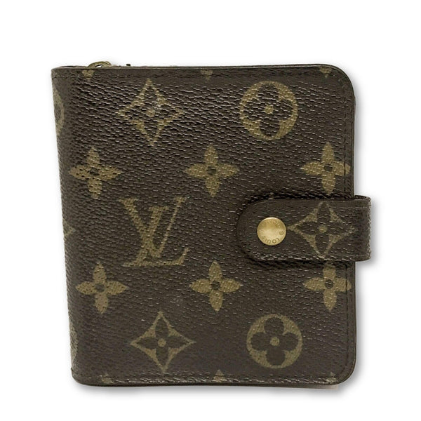 Louis Vuitton Monogram Zippy Bifold Wallet-Wallets & Clutches-Louis Vuitton-brown-JustGorgeousStudio.com