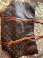 Louis Vuitton Sac Shopping Customization, Cleaning, and Repair For Darlene-Custom Made-Just Gorgeous Studio-brown-JustGorgeousStudio.com