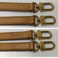 Louis Vuitton Shoulder Strap-Straps-Louis Vuitton-Tan/Gold-JustGorgeousStudio.com