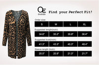OUGES Women's Open Front Cardigan Shirt with Pockets Long Sleeve Lightweight Coat-Just Gorgeous Studio | Authentic Bags Only-Small-Wine-JustGorgeousStudio.com