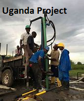 Uganda water project
