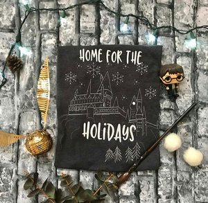 Home for the Holidays- Hogwarts
