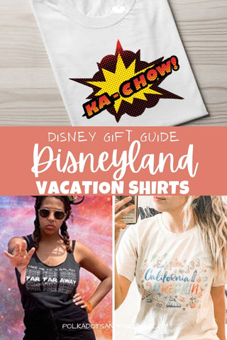 Disneyland Vacation Shirts for the whole family. By Polka Dot Pixie Shop