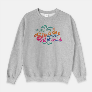 Disney Drinking Sweatshirt Sip a Dee Doo Dah Food and Wine Festival Inspired by Splash Mountain