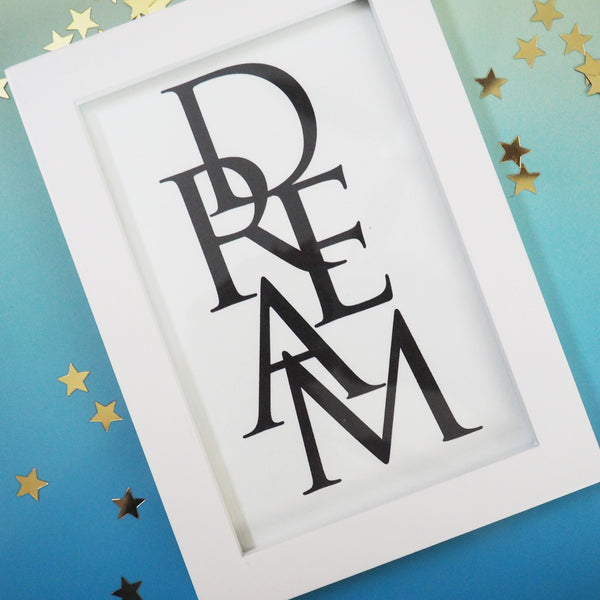 Inspirational Love Dream 4x6 Printable Wall Art Print- 2 Pack